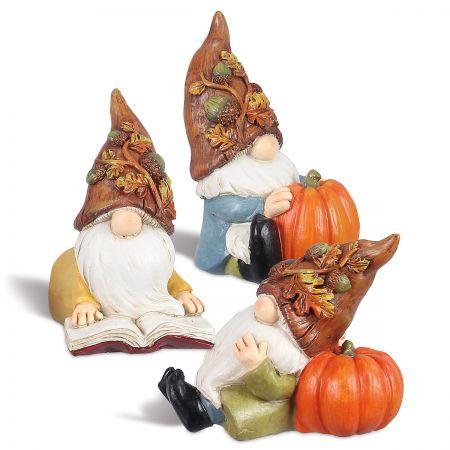 Fall Resin Gnomes