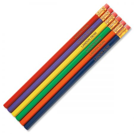 Primary #2 Hardwood Personalized Pencils