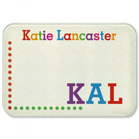 Whimsical Name Tempered Glass Cutting Board