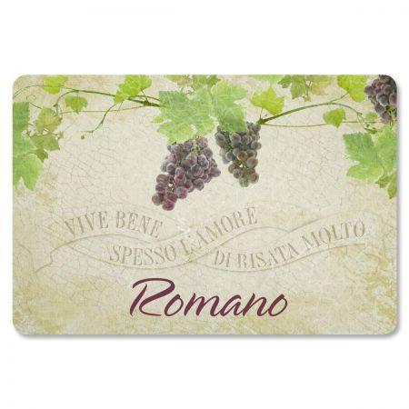Vive Bene Personalized Welcome Doormat