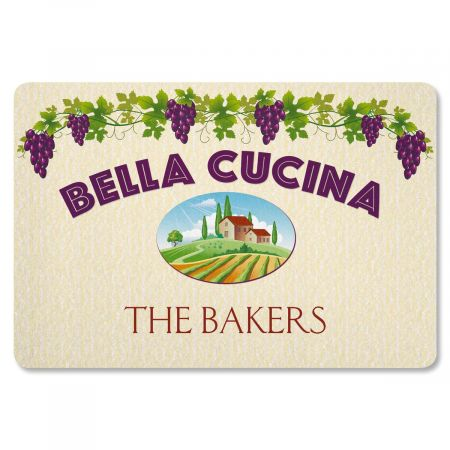 Bella Cucina Personalized Welcome Doormat