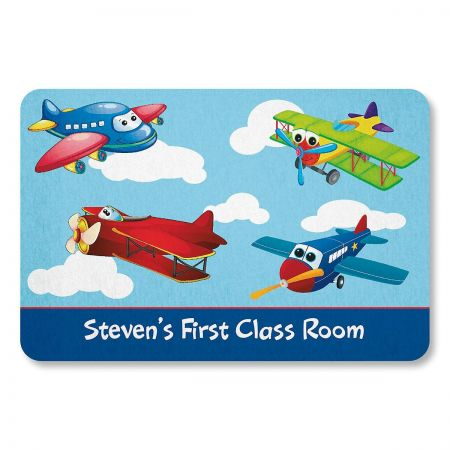 Airplane Personalized Doormat