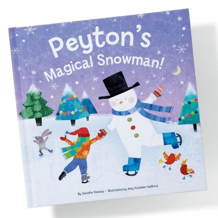 Magical Snowman Personalized StoryBook