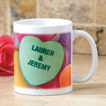 Conversation Heart Mug by Current Catalog