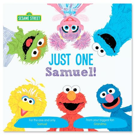 Just One You Sesame Street Personalized Story Book