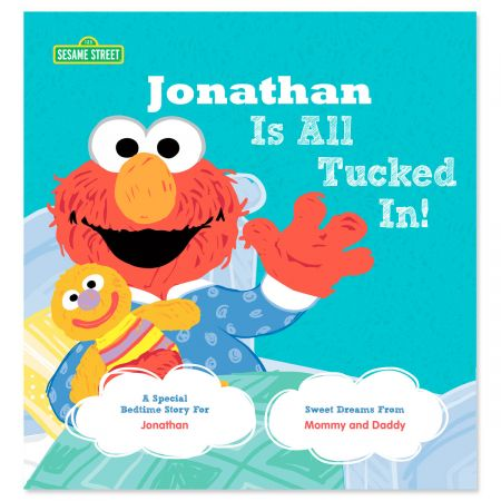 All Tucked In On Sesame Street Personalized Story Book