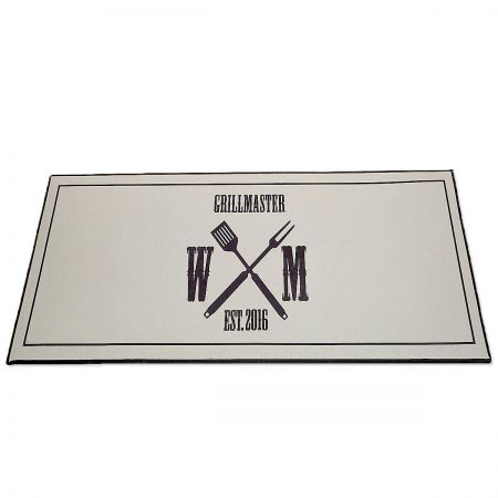Grill Master Personalized Doormat