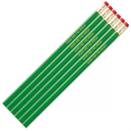 Bright Green #2 Hardwood Personalized Pencils