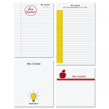 Teacher Note Pads