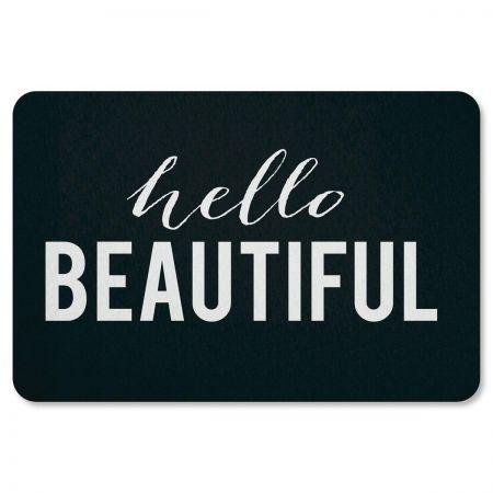 Hello Beautiful Doormat