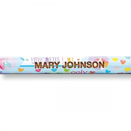 Unicorn #2 Hardwood Personalized Pencils