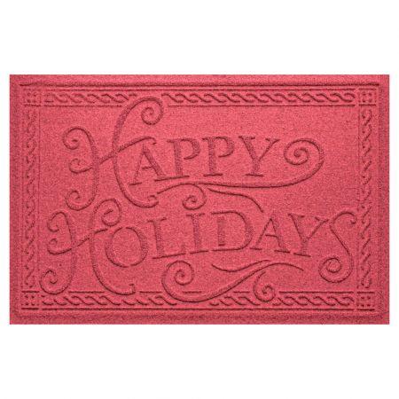 Happy Holidays Christmas Doormat