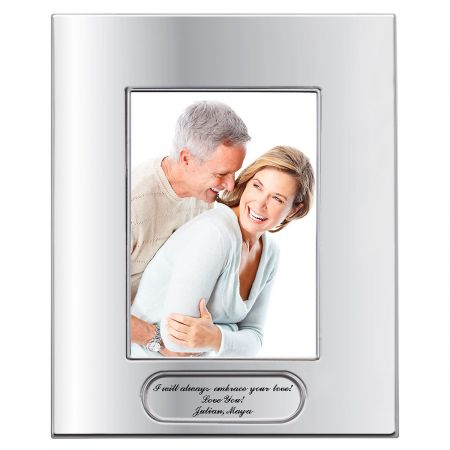 Personalized Polished Finish Picture Frame