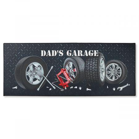 Double-Width Garage Doormat