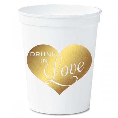 Drunk in Love Party Stadium Cups