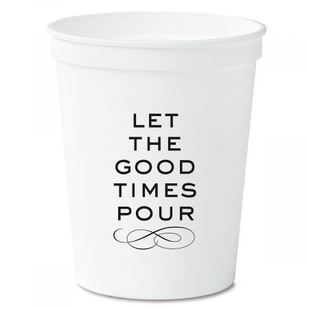 Good Times Party Stadium Cups