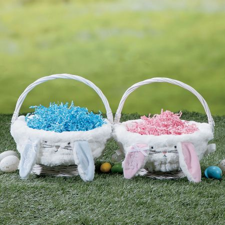 Fabric Personalized Easter Buckets