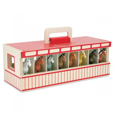 Take-Along Show Horse Personalized Stable by Melissa & Doug®