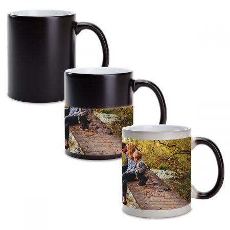Panoramic Ceramic Photo Mug - Color Changing