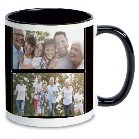 Family Name Personalized Photo Mug