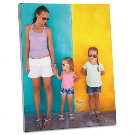 Vertical Personalized Photo Plaque