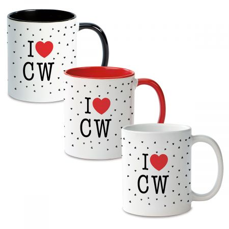I Love Personalized Ceramic Mug