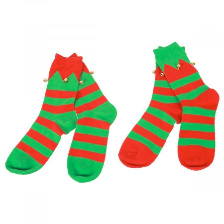 Women's Holiday Crew Socks - Elf