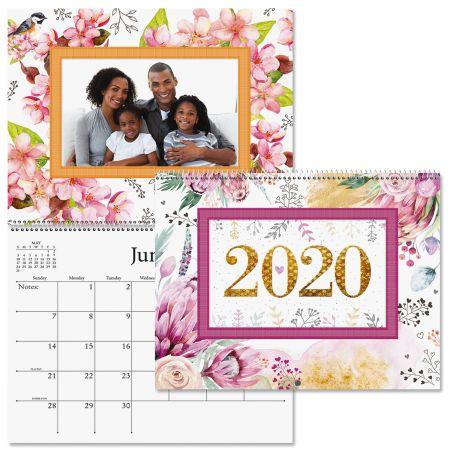 2020 Floral Photo Calendar