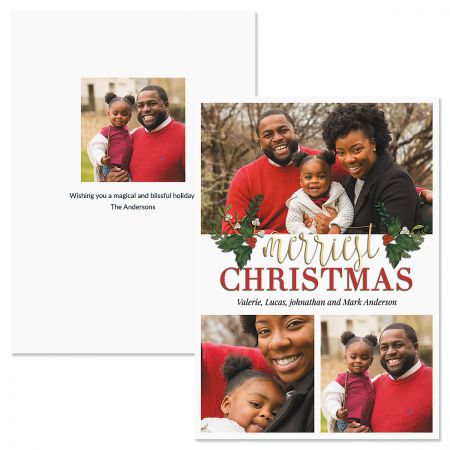 3 Greetings Photo Christmas Cards Current Catalog