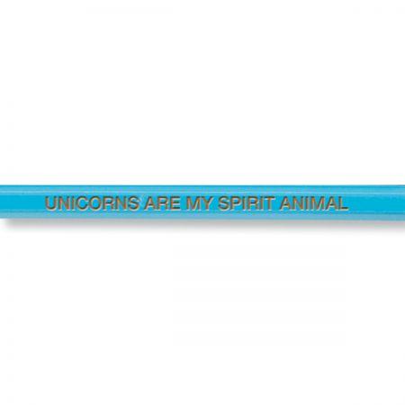 Unicorn Sayings #2 Hardwood Pencils