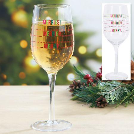 Merriest Wine Glass