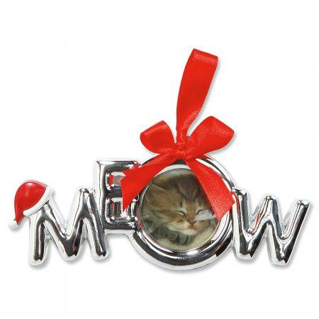 Meow Photo Ornament