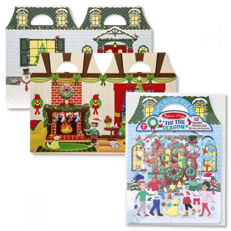 Melissa and Doug® Puffy Sticker Set - 'Tis the Season