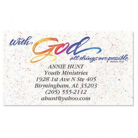 With God Business Card