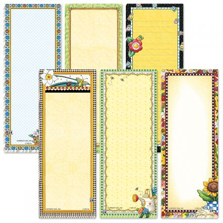 Mary Engelbreit® Border Magnetic Shopping List Pads