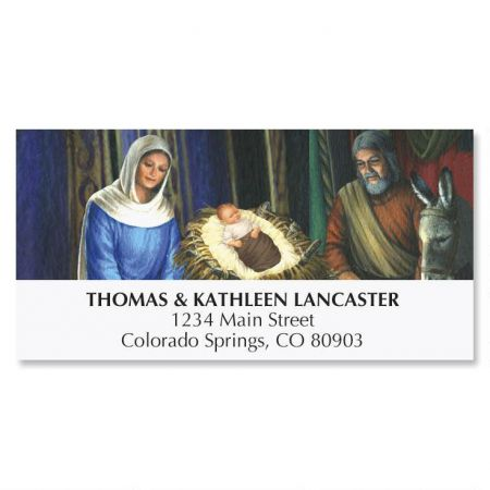Manger Address Labels