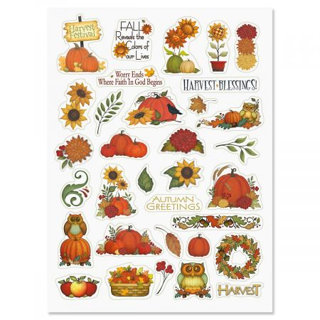 Autumn Blessings Stickers