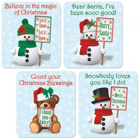 Snowman Flexible Magnets