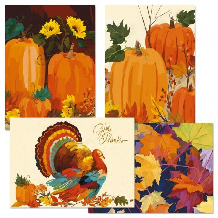 Martha Collins Thanksgiving Cards