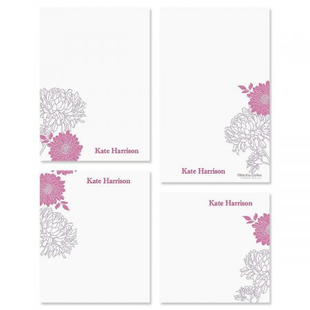 Flora Notepad Set