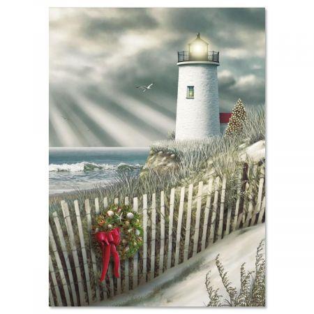 Christmas Shore Nonpersonalized Faith Christmas Cards - Set of 18