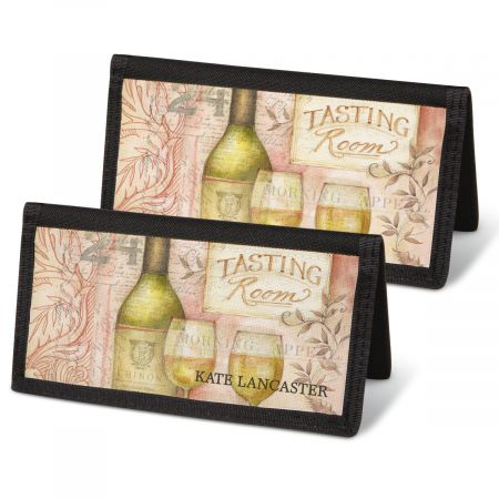 Wine Cellar Checkbook Covers