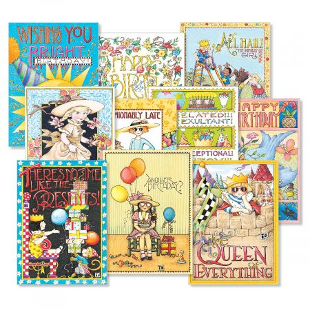 Mary Engelbreit® Birthday Cards Value Pack