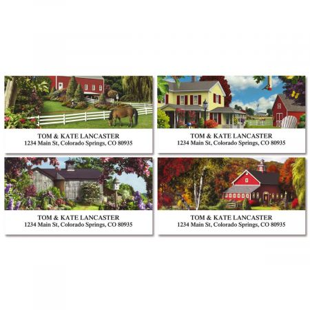 Country Life Address Labels