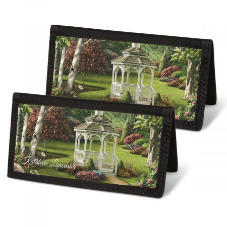 Peaceful Moments Checkbook Covers