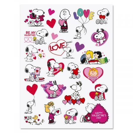 PEANUTS® Valentine Stickers