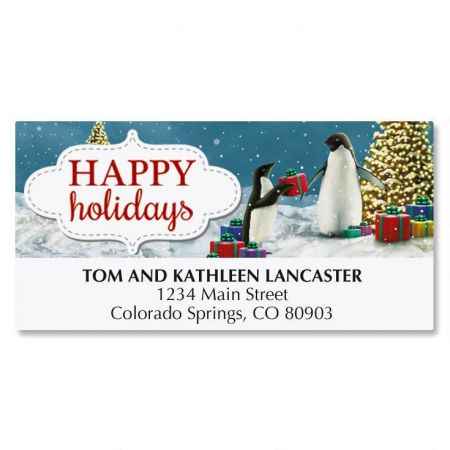 Penguin Deluxe Address Labels