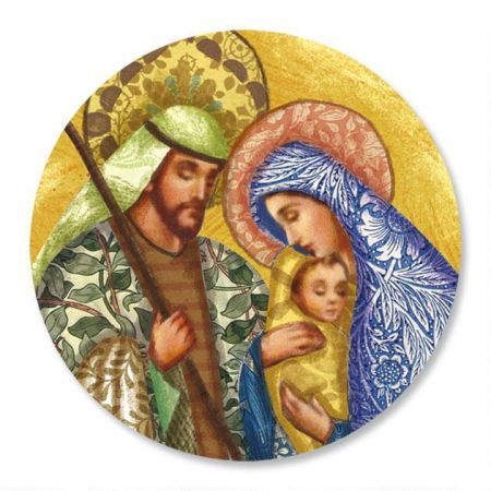 Holy Family Envelope Sticker Seals
