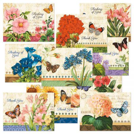 Grande Fleur Note Cards Value Pack