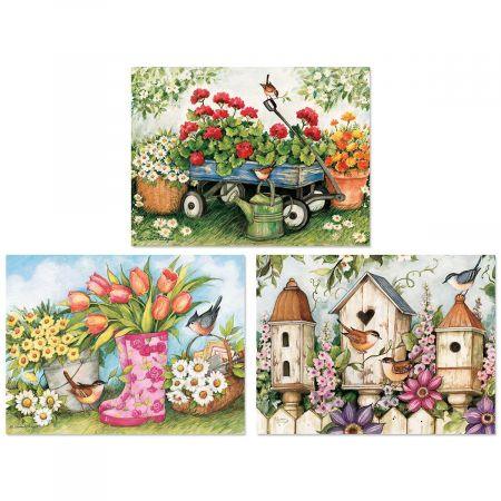Spring Garden Note Cards
